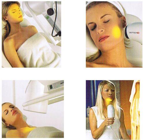 lichttherapie van BIOPTRON lamp